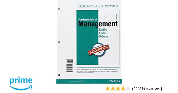 Fundamentals of management essential concepts and applications fundamentals of management essential concepts and applications student value edition 10th edition standalone book stephen p robbins mary a coulter fandeluxe Image collections