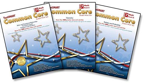 TestSMART® Common Core Mathematics Work Text, Grade 7 (Book I, II, & III ()