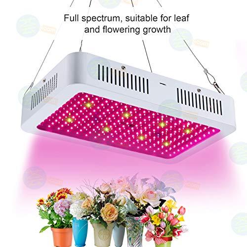 Led Grow Light for Indoor Plants - Vander Newest 1500W Full Spectrum UV IR Growing Lamps Hydro Plant Veg Flower