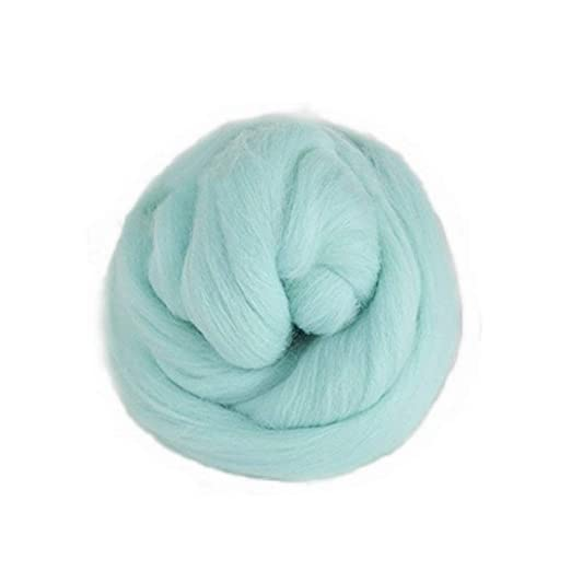 Jun Sortiert Farbe Roving Wolle Faser Garn Filzen Für Makramee Garn
