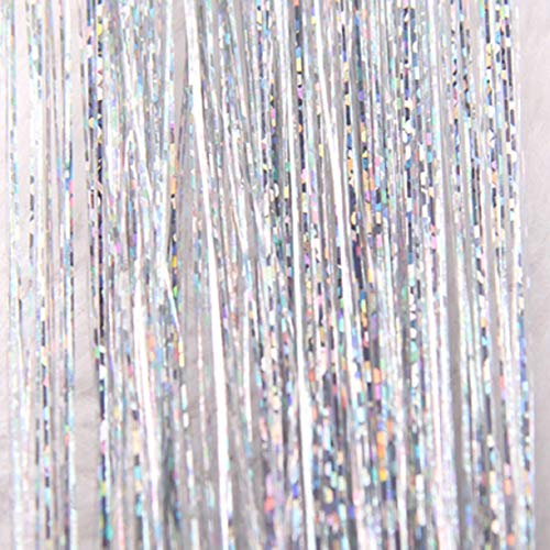 - Lowprofile Glitter Extensions Hair Highlights Party Wig Sparkling Shiny Hair Flairs Extensions Long Straight Wig Hair