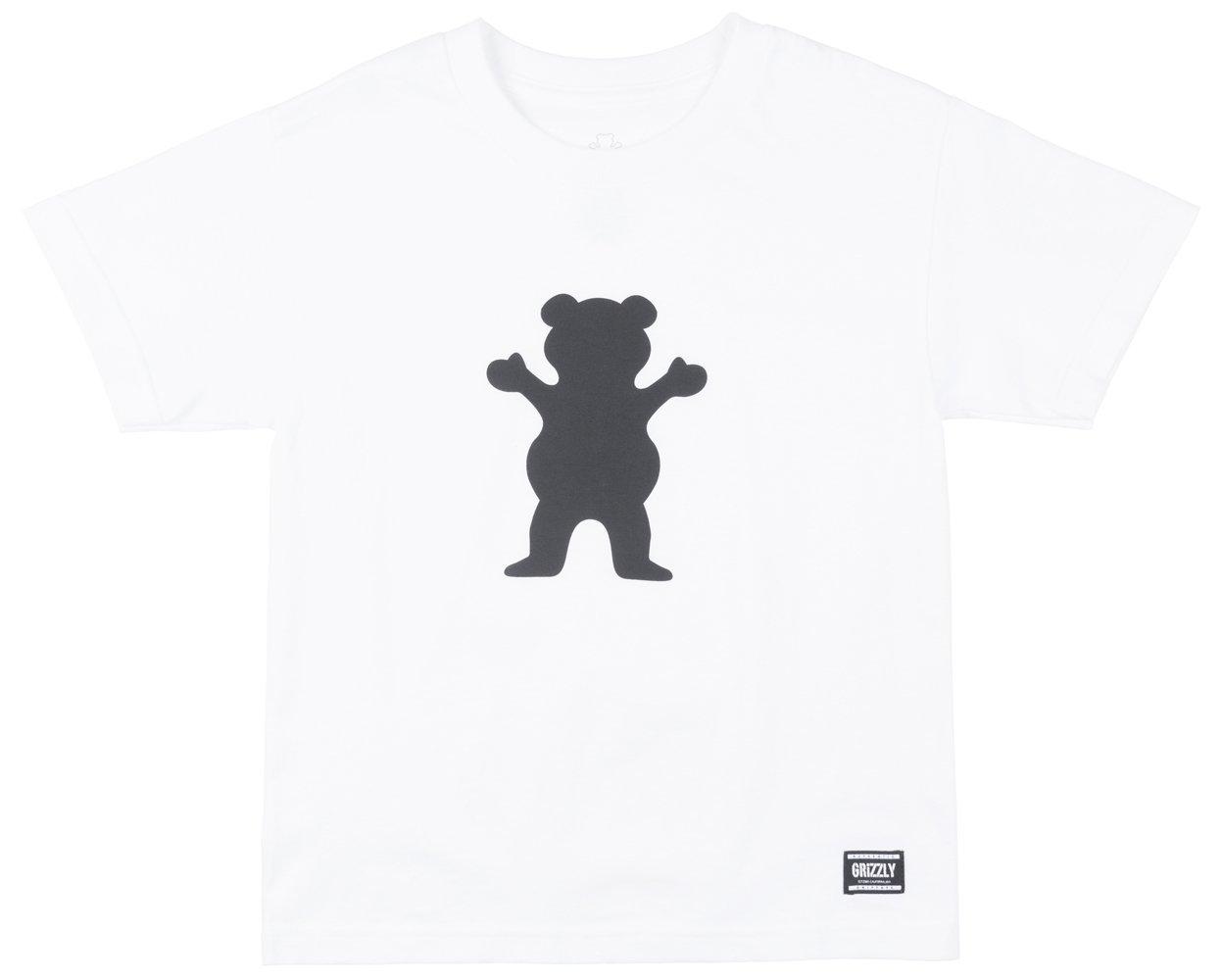 【超目玉】 【GRIZZLY】グリズリー 2018春夏 ボーイズ OG BEAR S Medium/S YOUTH T-SHIRTS T-SHIRTS KIDS キッズ 半袖Tシャツ TEE ティーシャツ ボーイズ スケートボード B073ZHGNQX Medium WHITE-BLACK WHITE-BLACK Medium, ムラウチ:751088f8 --- a0267596.xsph.ru