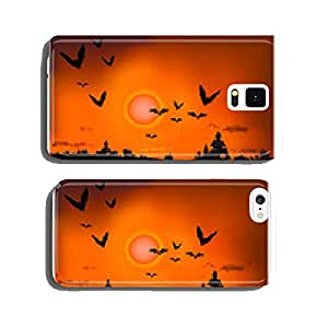 sunset in the dark city cell phone cover case iPhone6 Plus