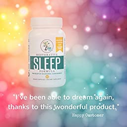Melatonin, Natural Sleep Aid, Extra Strength for your Best Rest. Naturally Drug Free with 5-HTP, Magnesium, & more Non Habit Forming (60 Veggie Capsules)