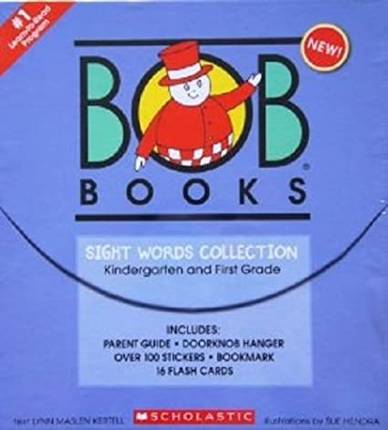 Amazon.com : Bob Books Sight Words Collection - Kindergarten and ...