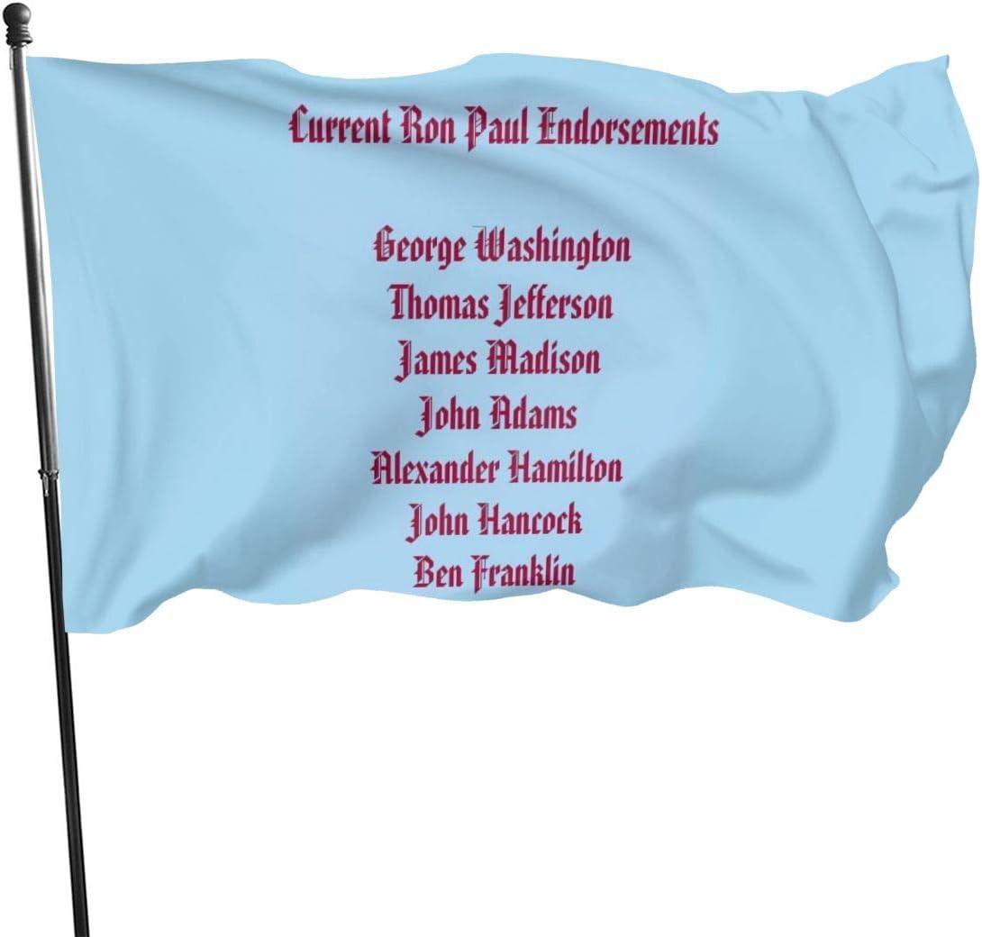 Bandera de Ron Paul Endosamientos, de la marca N/D, 7,6 x 12 ...