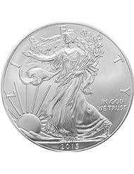 2013 - 1 oz American Silver Eagle .999 Fine Silver Dollar Uncirculated US Mint