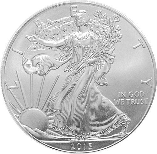 2013 Silver American Eagle Brilliant Uncirculated Gem US Coin 1 oz .999 Fine Silver $1