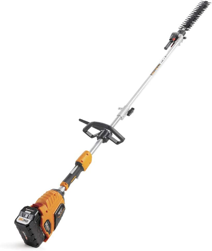 Maniny Pole Hedge Trimmer - Corded Telescopic Hedge Trimmer, Cut Diameter: 18mm - Outdoor Trimmer for Garden, Bushes, Hedges