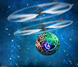 2016 New Arrival! Owill RC Toy EpochAir RC Flying Ball, RC Drone Helicopter Ball Built-in Shinning LED Lighting for Kids Teenagers Colorful Flyings for Kids Toy Gift - Green