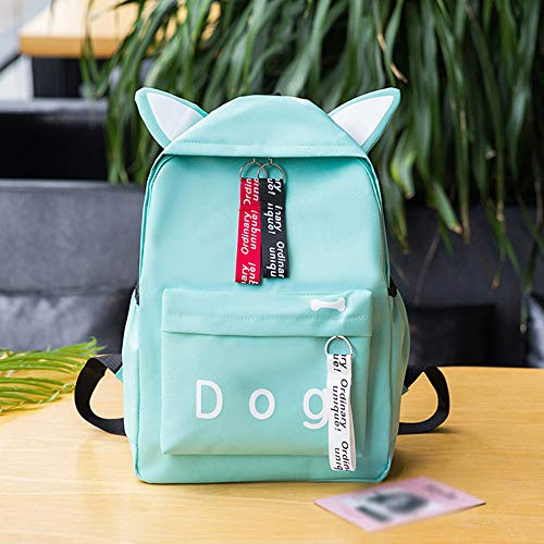 Amazon.com: Fashion Women Students Canvas Lovely Shoulder Bag School Bag Tote Backpack: Office Products