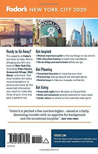 51o5eoB5nPL - Fodor's New York City 2020 (Full-color Travel Guide)