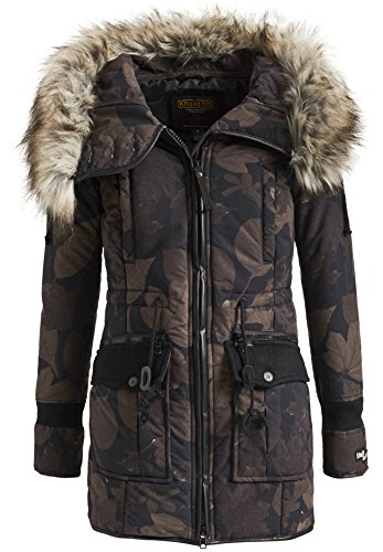 Brown Parka Bugs Black Khujo Retro ZWS4US7c