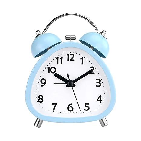 PILIFE - Reloj Despertador analógico de 3 Pulgadas con Forma ...