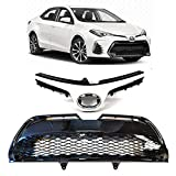 AutoModed Upper & Lower Bumper Grille Grill