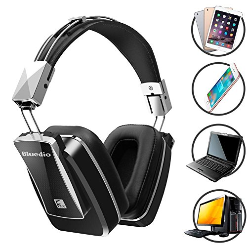 Price comparison product image LIYUDL Bluedio F800 Active Noise Cancelling Wireless Bluetooth Head Mounted Headphones