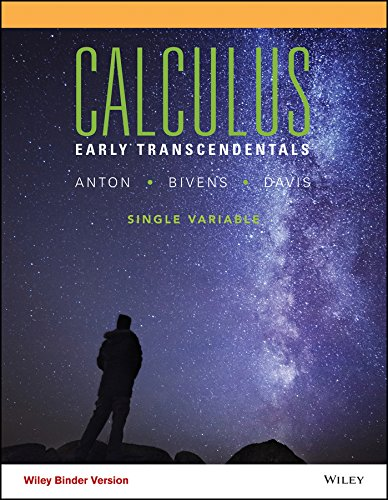 Calculus Early Transcendental Single Variable, Binder Ready Version