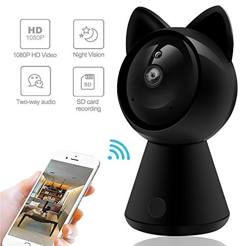 Wireless IP Camera 1080P HD Wifi 360° Surveillance Video Mo