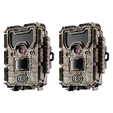 Bushnell Trophy Cam Aggressor 14MP No Glow HD Game Camera, Camo (2 Pack)