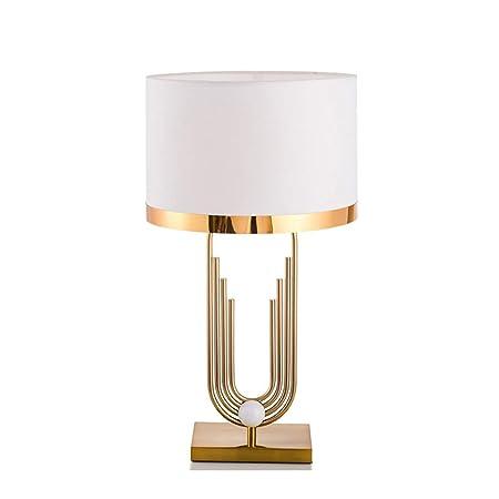 TOL MY Lámpara de Mesa Creativa de Metal posmoderno, lámpara de ...