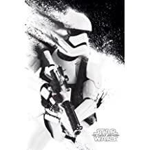 "Star Wars Episode 7 The Force Awakens Stormtrooper Paint Poster (16""x20"")"