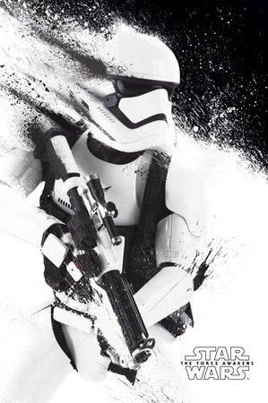 Star Wars: Episode 7 Poster Stormtrooper Paint - Poster Großformat ...
