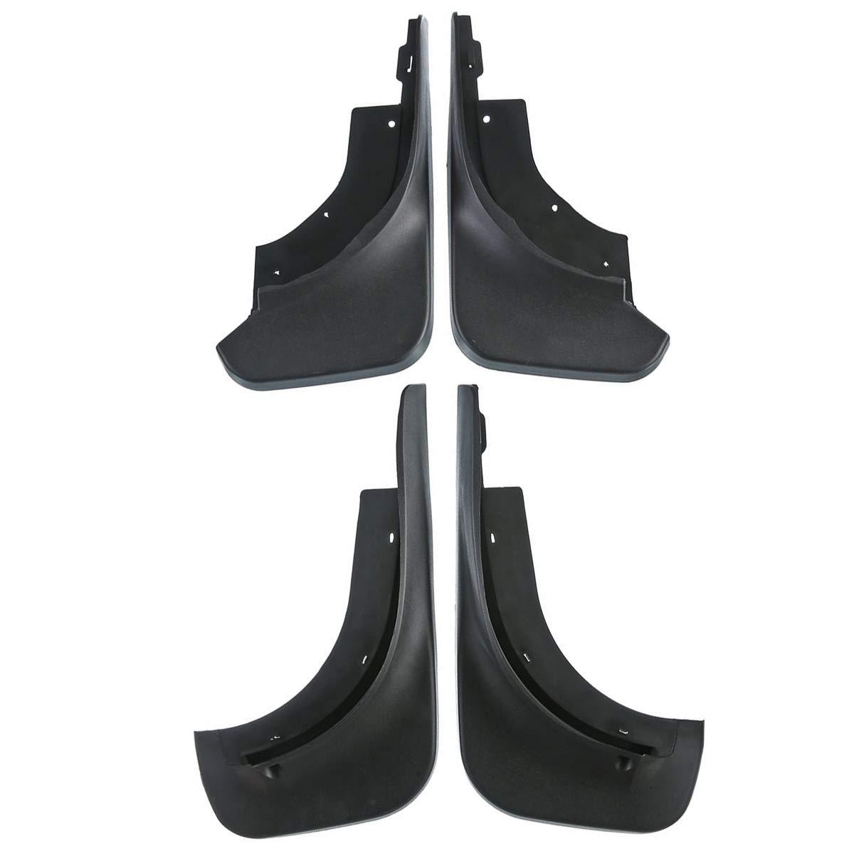 A-Premium Mud Flaps Splash Guards For Volkswagen Touareg 2007-2010 4-PC Set PremiumpartsWhosale