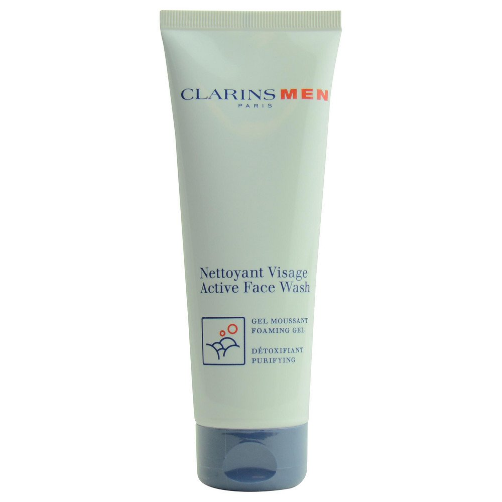 Clarins by Clarins Men Active Face Wash--125ml/4.2oz for MEN ---(Package Of 6)