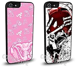 Alabama Crimson Tide Cell Phone Hard Plastic Case TWO PACK for iphone 6 4.7