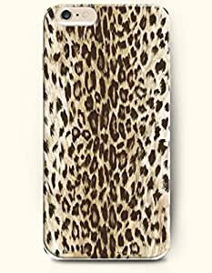 Black And Beige Leopard Stripe - Animal Print - Phone Cover for Apple iPhone 6 Plus ( 5.5 inches ) - SevenArc Authentic...