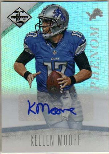 2012 Limited Monikers Autographs Silver #178 Kellen Moore Autograph Card Serial #'d/249