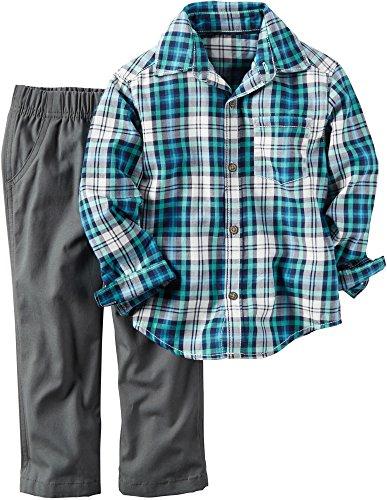 carters-baby-boys-2-pc-playwear-sets-plaid-24m
