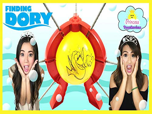 Clip: Princess ToysReview Plays Boom Balloon