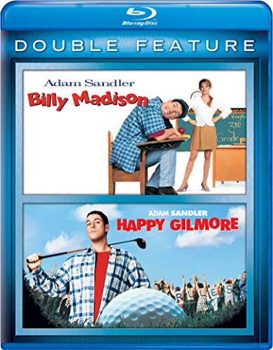Blu-ray : Billy Madison / Happy Gilmore (2 Pack, Snap Case, 2 Disc)