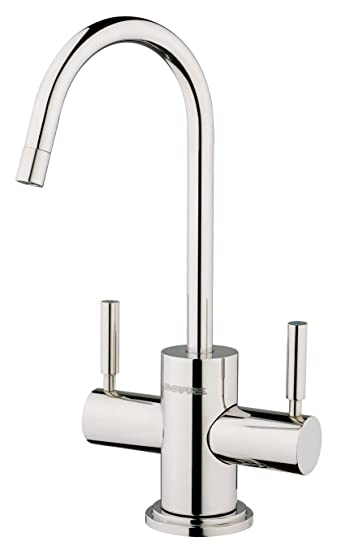 hot and cold water filter faucet. Everpure EV9000 85 Designer Series Hot Cold Drinking Water Faucet  Polished Stainless Steel Amazon com