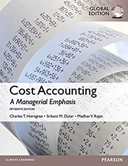 Amazon cost accounting global edition ebook madhav rajan cost accounting global edition by rajan madhav datar srikant m fandeluxe Images