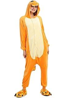 06c477fffe Tuopuda Pijamas Unicornio Unisexo Adulto Traje Disfraz Pijamas de Animales  Enteros Cosplay Animales de Vestuario Ropa