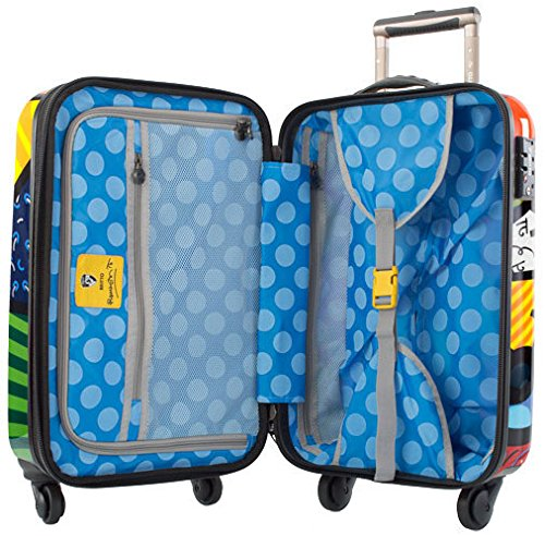 Heys America Multi -Britto Butterfly 21-Inch Carry-on Spinner Luggage by HEYS AMERICA (Image #3)