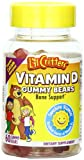 L'il Critters Vitamin D Gummy Bears, 60 count,  Bottles (Pack of 3), Health Care Stuffs