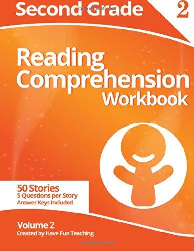Download Second Grade Reading Comprehension Workbook: Volume