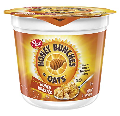 Honey Bunches of Oats Honey Roasted, 2.1-Ounce (Pack of 12 ()