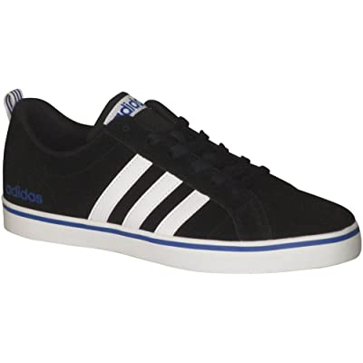Adidas Men's Pace Plus Fashion Sneakers Core Black/White/Blue D(M) US