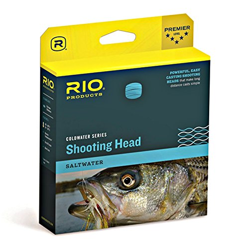 RIO Fly Fishing Fly Line Outbound Short Shad Type 6 Wf8S6 Fishing Line, Black
