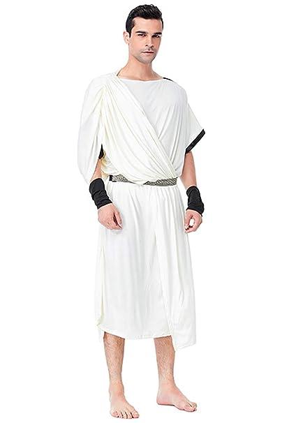 Disfraz Retro Adulto Traje Blanco Edad Media Pareja Vestido ...
