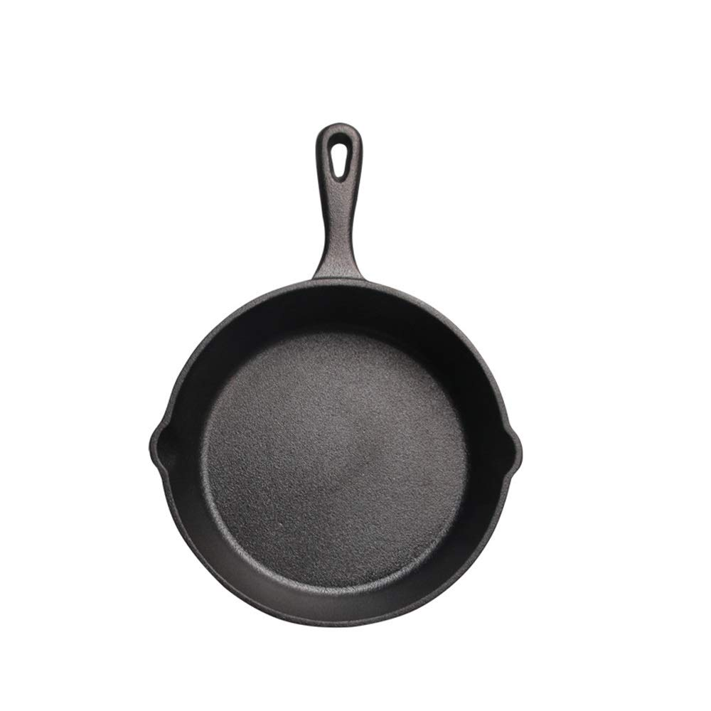 Bac bac Not Sticky Frying Pan Cast Iron Pan Stone Layer Frying Pot Fried steak Saucepan Cooker Egg Pancake Pot Use Gas And Induction Cookware Bac bac (Size : 16cm)