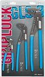 Channellock GLS-3 Griplock Plier 3-Piece Set : GL6, GL10, GL12