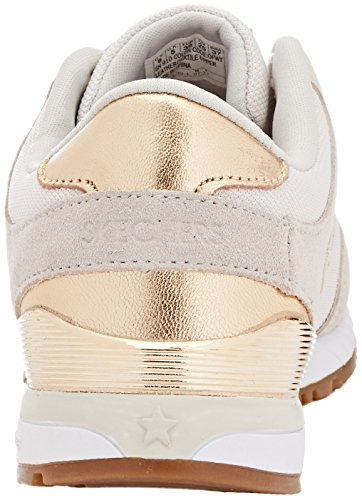 Ivoire White Skechers off Baskets Sunlite revival Femme aW4H0