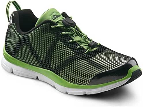 Dr. Comfort Men's Jason Green Diabetic Athletic Shoes