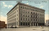 YMCA and YWCA Buildings Omaha, Nebraska Original Vintage Postcard