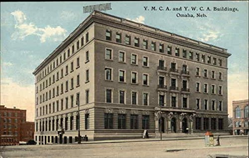 YMCA and YWCA Buildings Omaha, Nebraska Original Vintage Postcard